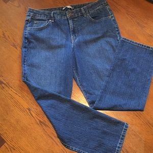 """Bandolino Blu """"Mandie"""" Jeans size 14s"""